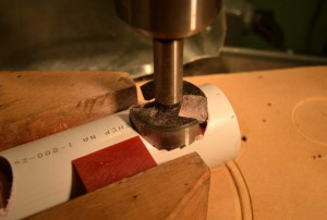 Milling a prototype bluetooth speaker.